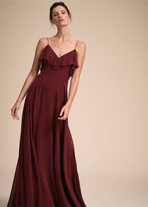 Mila Dress - Hibiscus, BHLDN Bridesmaids