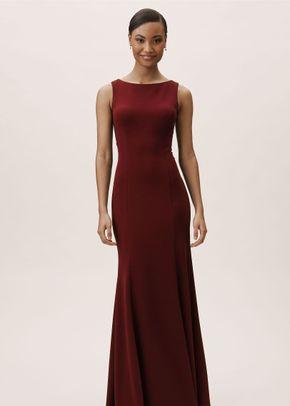 Misty Dress - Bordeaux, BHLDN Bridesmaids
