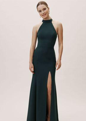 Montreal Dress - Dark Emerald, BHLDN Bridesmaids