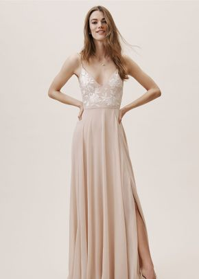 Sadia Dress - Blush, BHLDN Bridesmaids