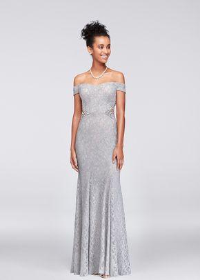 David's Bridal Bridesmaid Style 3622HN7B, David's Bridal Bridesmaids