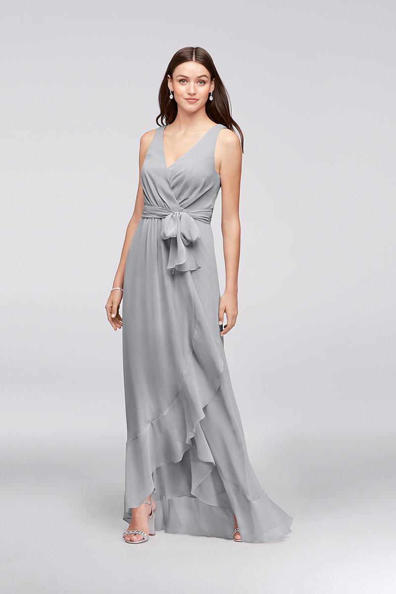 davids bridal f19748 sheath bridesmaid dress by davids