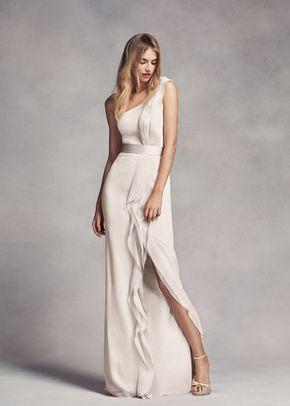 White by Vera Wang Style VW360307, David's Bridal Bridesmaids