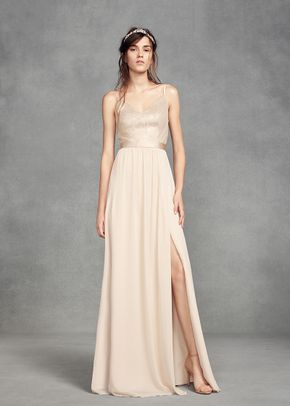 White by Vera Wang VW360345, David's Bridal Bridesmaids