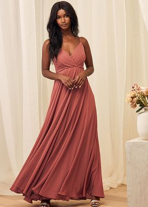 All About Love Rusty Rose Maxi Dress, 4415