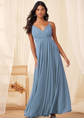 All About Love Slate Blue Maxi Dress, 4415