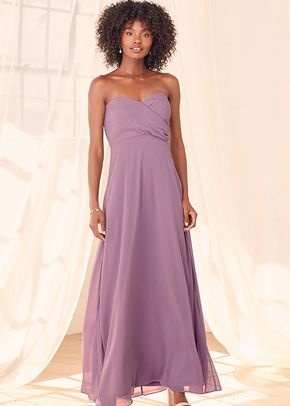 Glorious Occasion Lavender Strapless Maxi Dress, 4415