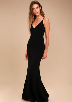 Infinite Glory Black Maxi Dress, 4415
