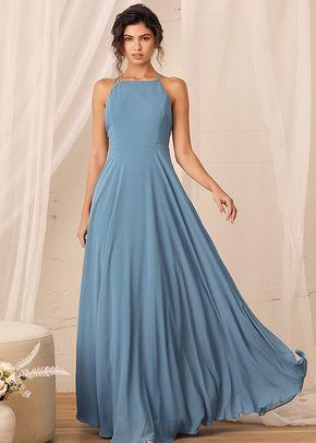 Mythical Kind of Love Slate Blue Maxi Dress, 4415