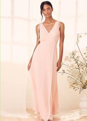 Romantic Possibilities True Blush Swiss Dot Maxi Dress, 4415