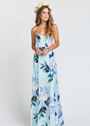 Godshaw Goddess Gown - Mint To Be Floral, Show Me Your Mumu