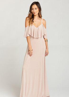 Renee Ruffle Maxi Dress - Dancing Queen Shine Blush, Show Me Your Mumu