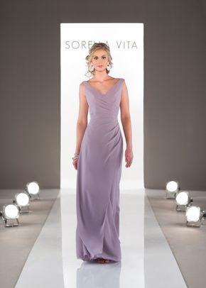 8324 A Line Bridesmaid Dress By Sorella Vita Weddingwire Com