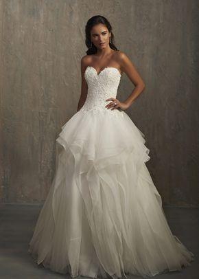 Jaynee Mermaid Wedding Dress By Adrianna Papell Platinum