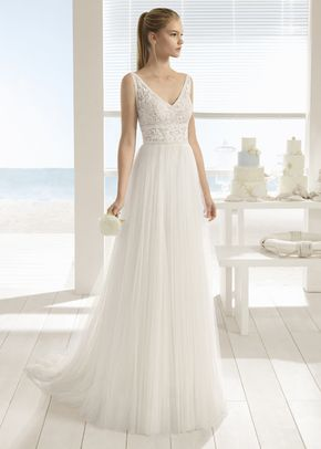 Basilic Ball Gown Wedding Dress By Aire Barcelona