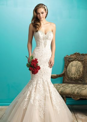 9266, Allure Bridals