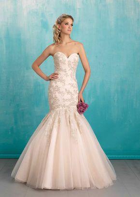 9463, Allure Bridals