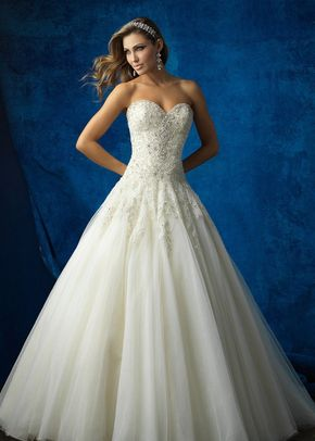 9369F, Allure Bridals
