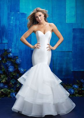 9607, Allure Bridals