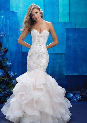 9421, Allure Bridals