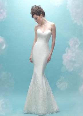 9458, Allure Bridals