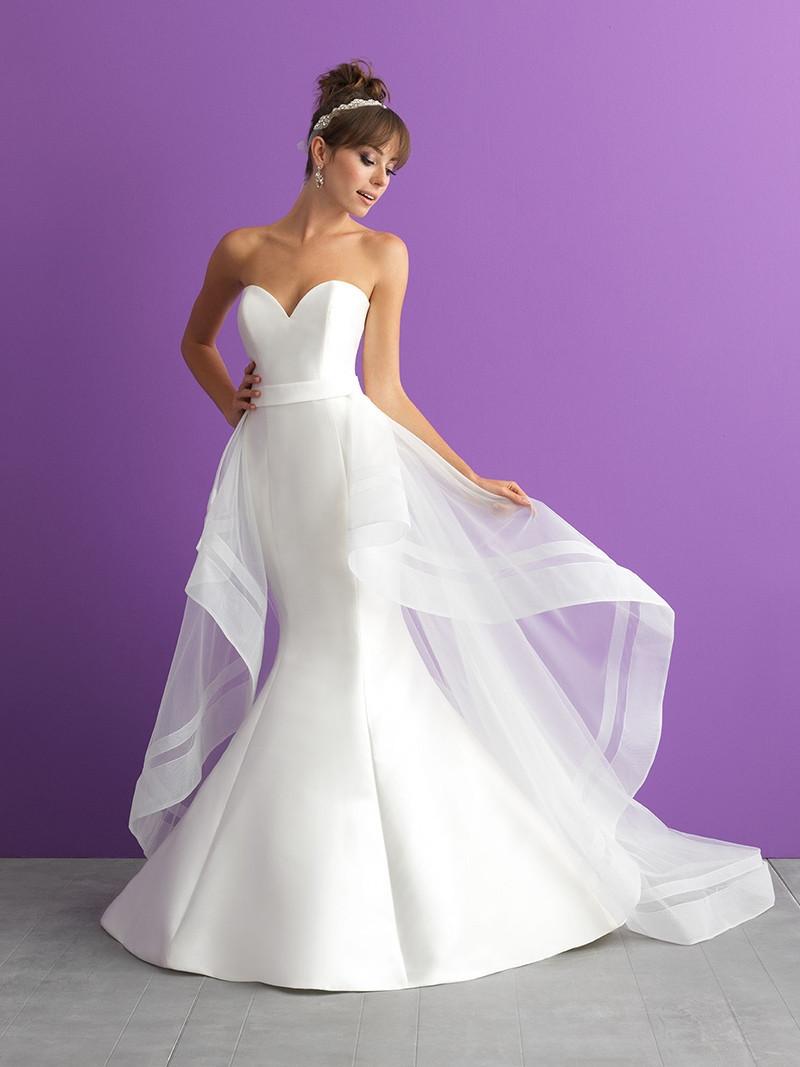 3000t Mermaid Wedding Dress By Allure Romance