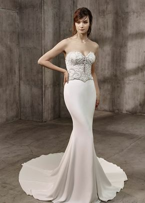 Amanda Bodice and Astor Skirt, Badgley Mischka Bride