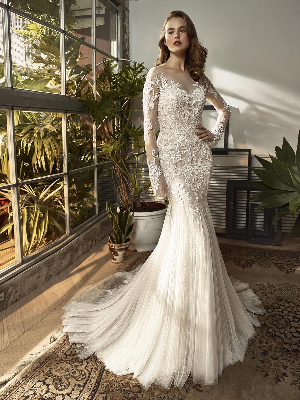 BT18-8 Mermaid Wedding Dress by Beautiful