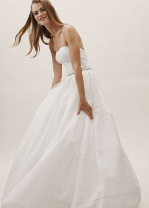 BHLDN Bellevue Linen Gown, BHLDN