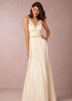 BHLDN FLEUR DRESS in White, BHLDN
