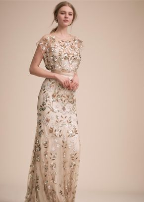 BHLDN Flourishing Vines Gown, BHLDN