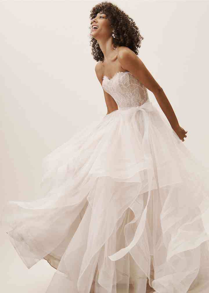 BHLDN Girard Corset Top & Effie Skirt, BHLDN