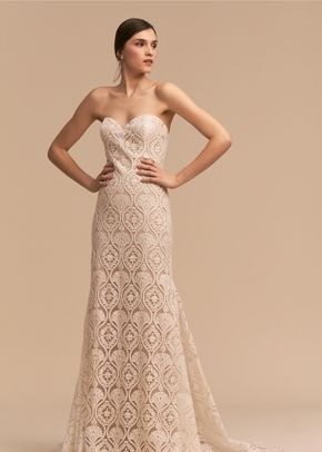 Capri Top Nan Wedding Dress By Bhldn Weddingwire Com