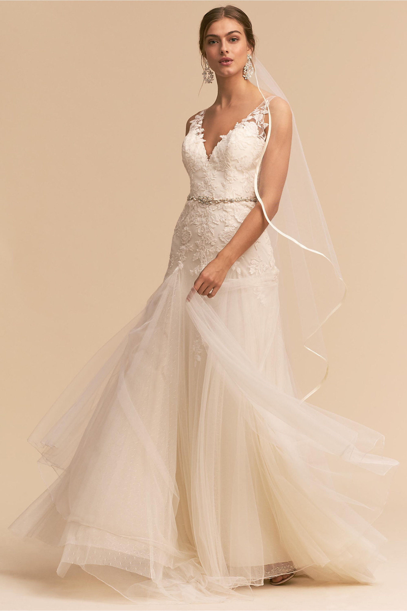 Bhldn Soulmate Gown A Line Wedding Dress By Bhldn