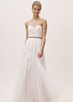 Geranium Gown, BHLDN