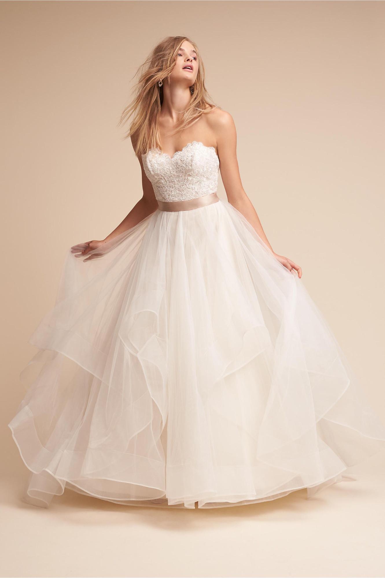 Rowena Gown Nan Wedding Dress By Bhldn Weddingwire Com