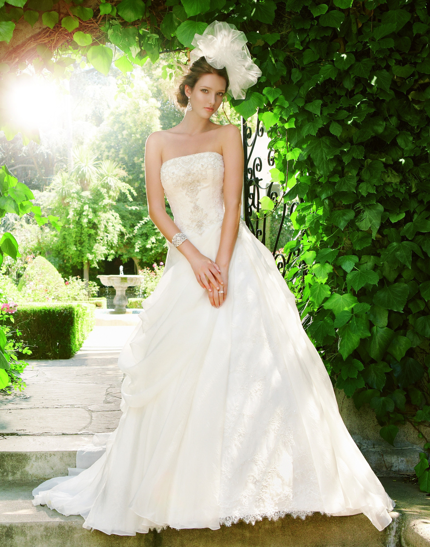 2021 ball gown wedding dress by casablanca bridal for Casablanca wedding dress