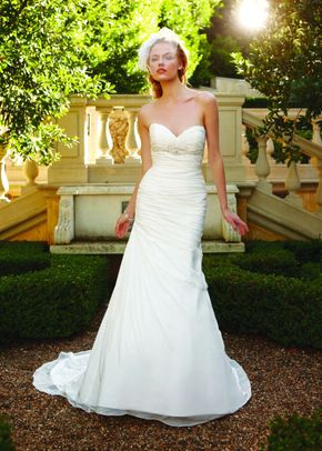 2234 Flared Cut Fit N Flare Wedding Dress By Casablanca