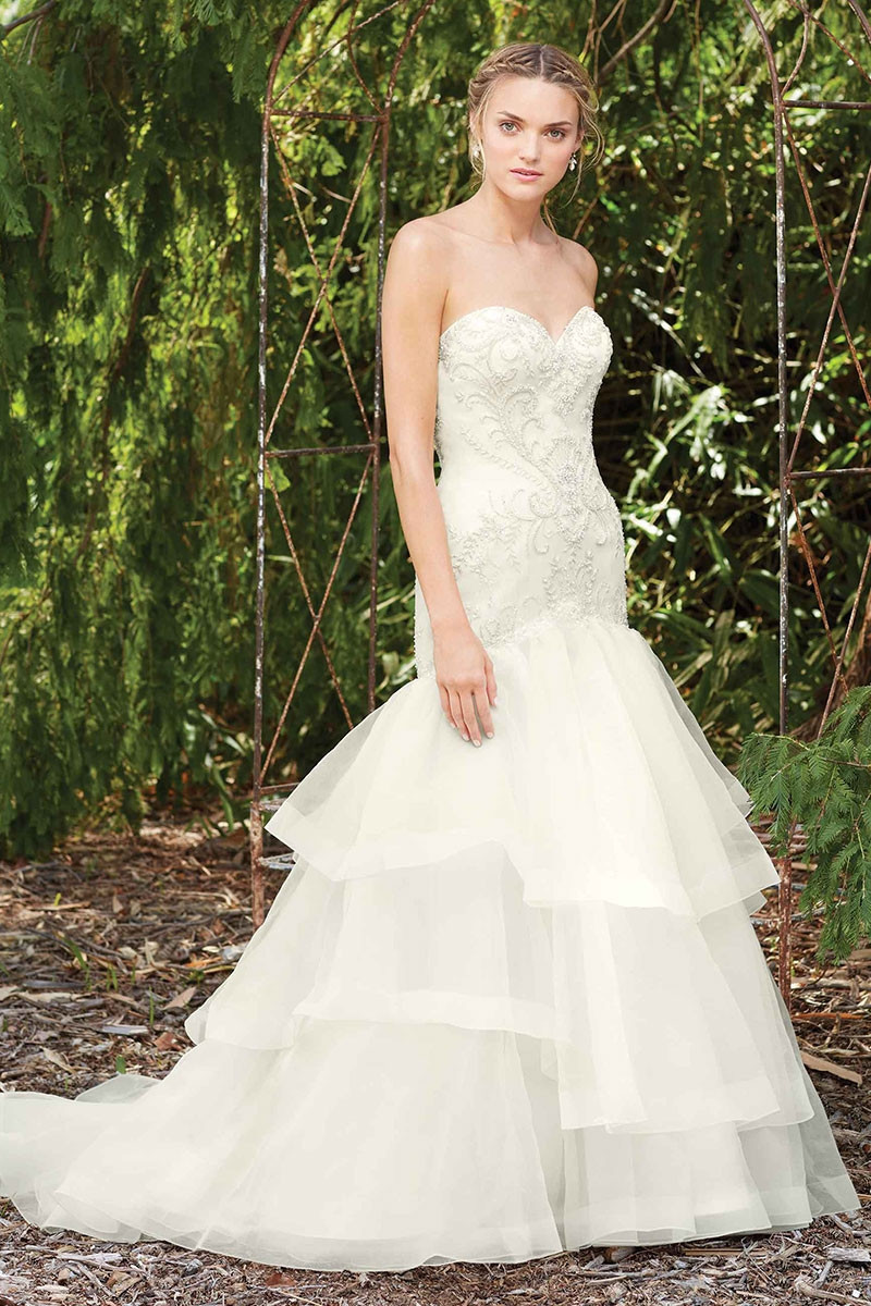 2273 poppy ball gown wedding dress by casablanca bridal for Casablanca wedding dress