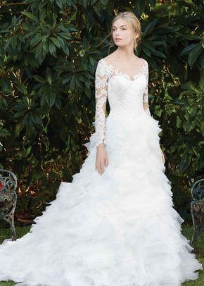 2279 Fuchsia, Casablanca Bridal