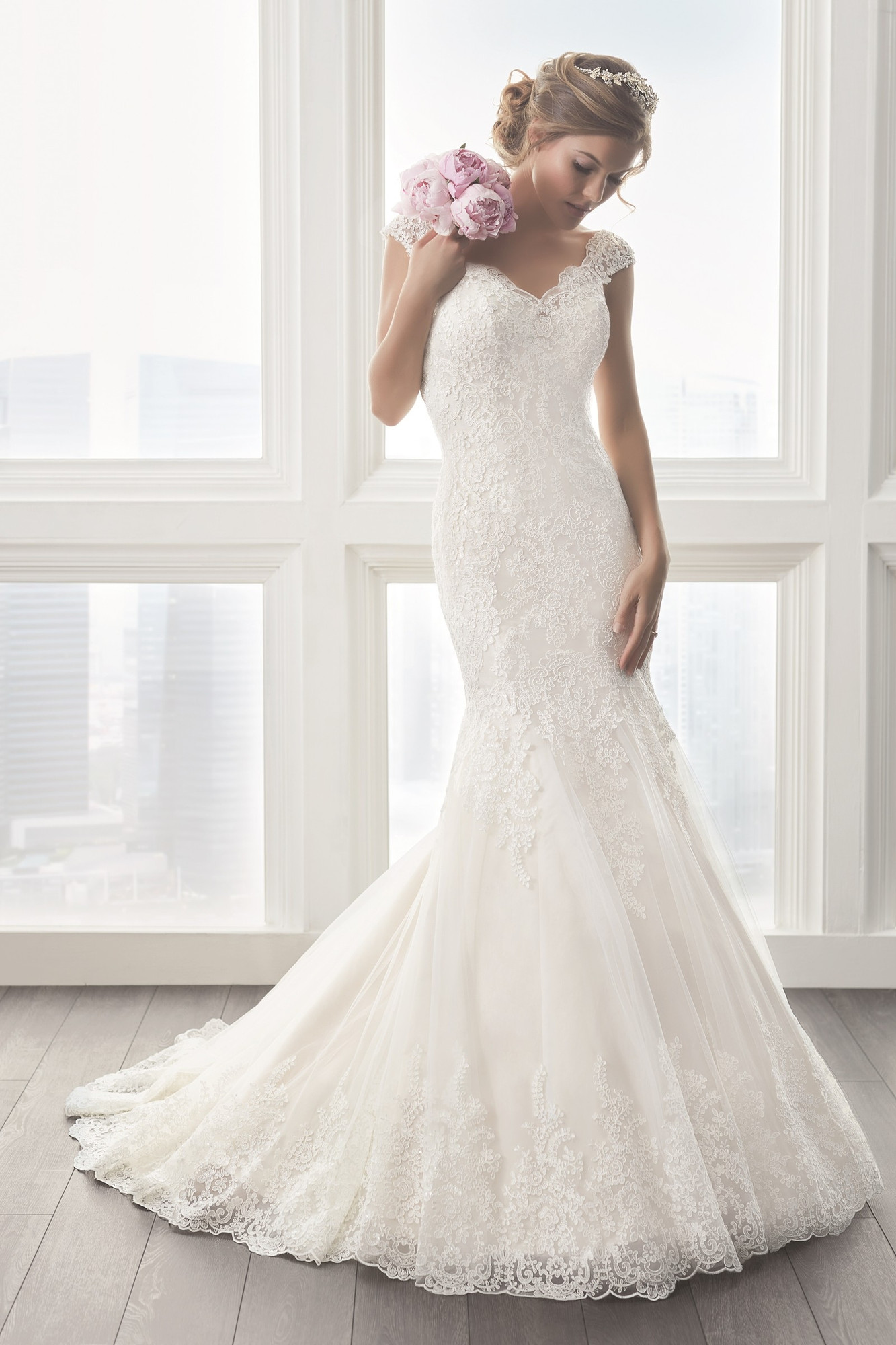 how to build a wedding cake with pillars 15623 mermaid wedding dress by wu brides 15590