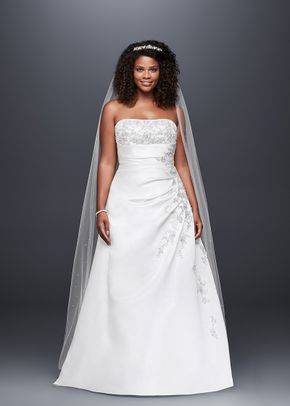 David's Bridal 9V9665, David's Bridal
