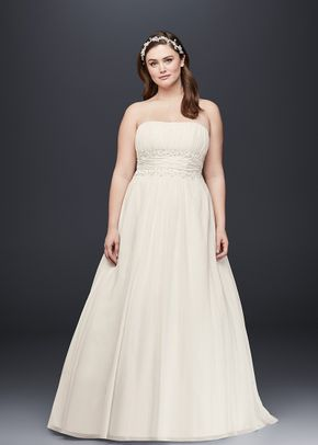 White by Vera Wang VW351395, David's Bridal