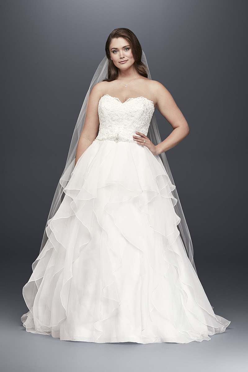 720cb017f368 Ruffles Wedding Dress Photos, Ruffles Wedding Dress Pictures -  WeddingWire.com