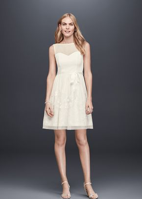 David's Bridal Collection Style  EJ8M7573, David's Bridal