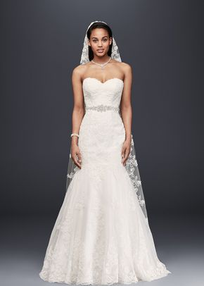 David's Bridal Collection Style V3680, David's Bridal