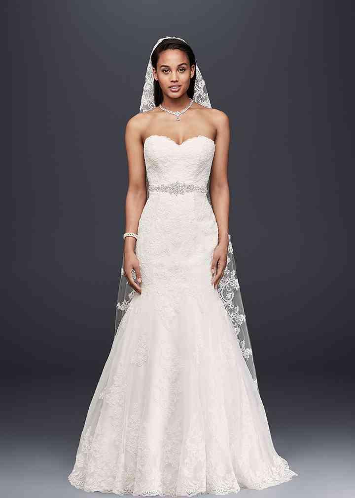David's Bridal Collection Style V3680, David's Bridal