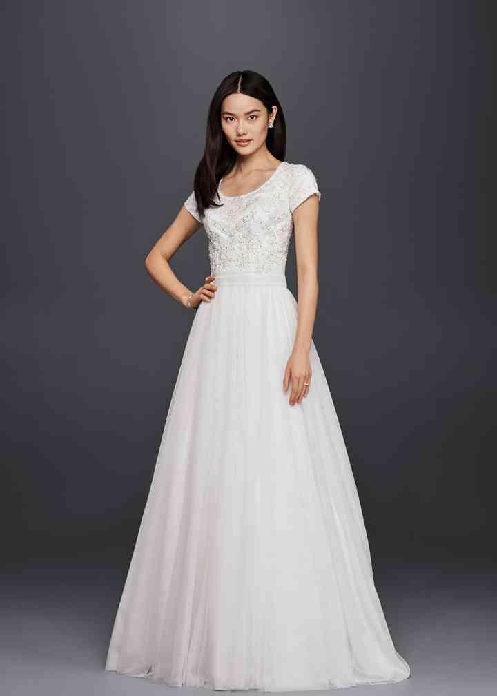 David's Bridal SLWG3811, David's Bridal