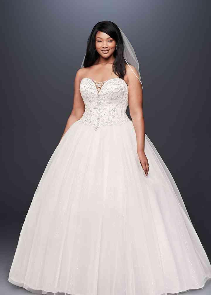 David's Bridal Style 9V3849, David's Bridal