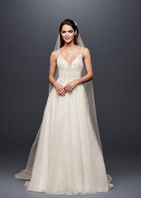 David's Bridal SWG784 SOLIDIVORY, David's Bridal